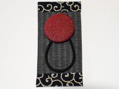 畳縁くるみボタン